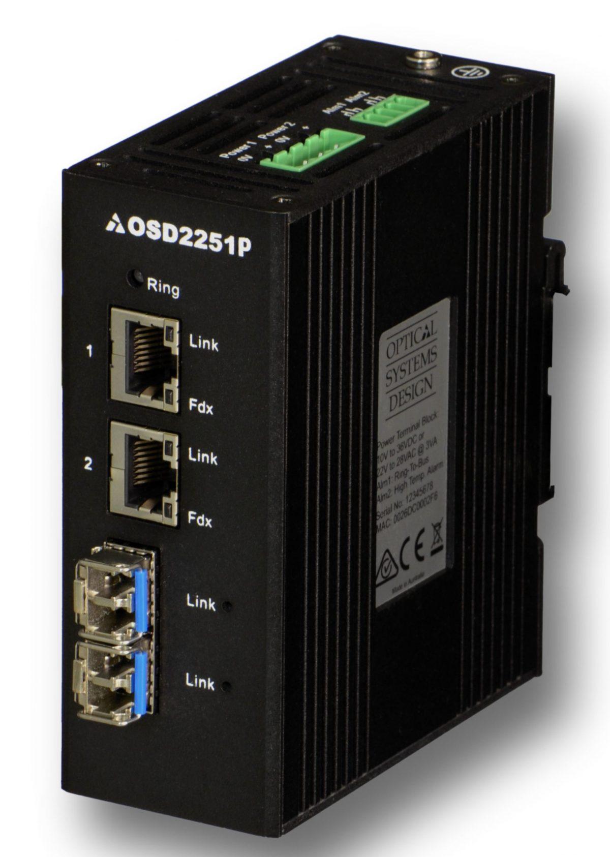 Osd2251p Self Managed Poe Ethernet Switchoptical Systems
